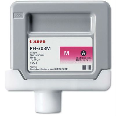 Картридж Canon PFI-303M Magenta/Пурпурный (2960B001)