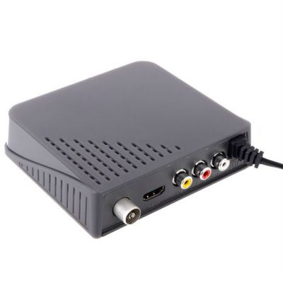 BBK Ресивер DVB-T2 (темно-серый) SMP017HDT2