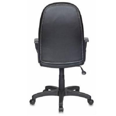 Офисное кресло Бюрократ руководителя CH-826 B+BG вставки бежевый сиденье черный искусственная кожа крестовина пластиковая