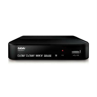BBK Ресивер DVB-T2 (черный) SMP018HDT2