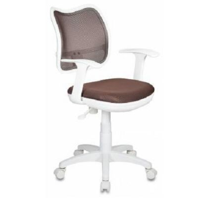 Офисное кресло Бюрократ BR, TW-14C спинка сетка коричневый сиденье коричневый ткань крестовина пластиковая CH-W797