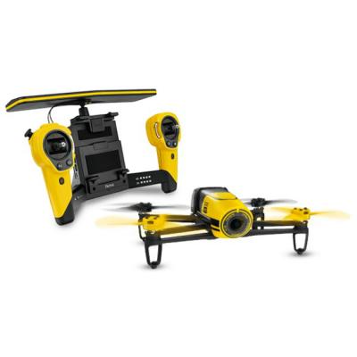Parrot Квадрокоптер Bebop Drone + джойстик управления SkyController (желтый) PF725102