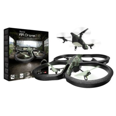 Квадрокоптер Parrot AR Drone 2.0 Elite Edition (лесной камуфляж) PF721822