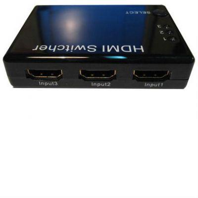 Espada Видеоадаптер HDMI Switch 3X1, + пульт HSW0301S