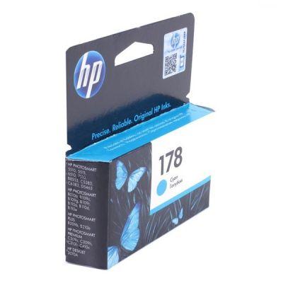 Картридж HP 178 Cyan/Голубой (CB318HE)