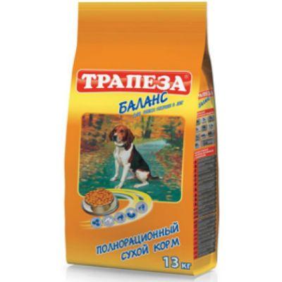 Сухой корм Трапеза Баланс 13 кг для пожилых собак