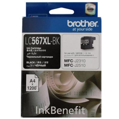 ��������� �������� Brother �������� Brother ��� MFC-J2510 ������ (1200���) LC-567XLBK