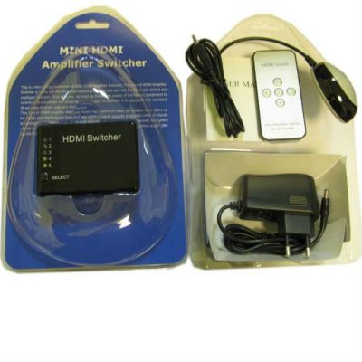 Espada Видеоадаптер HDMI Switch 5X1, + пульт HSW0501S
