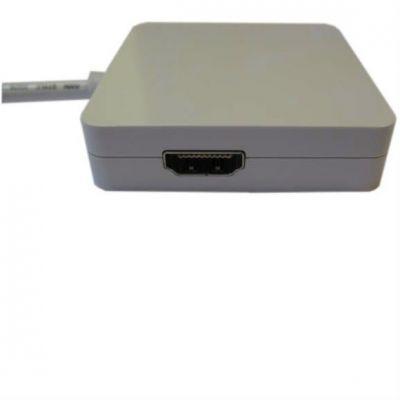 Видеоадаптер Espada Mini Display Port M to DVI/HDMI/DisplayPort F, 20 cm EMDPM-3in1DPF20