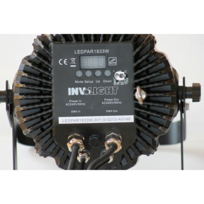 Involight ����������� RGB ���������� LED PAR1833W