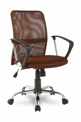 Офисное кресло Staten офисное COLLEGE H-8078F-5 коричневое