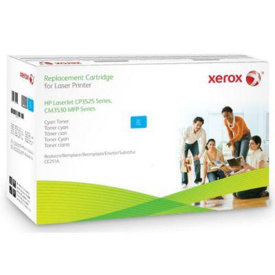 Расходный материал Xerox Картридж для HP LJ CP3525 Cyan -CE251A 106R01584