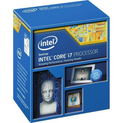 Процессор Intel Core i7 5775C Soc-1150 (3.3GHz/5000MHz/Intel Iris Pro Graphics 6200) BOX BX80658I75775CSR2AG