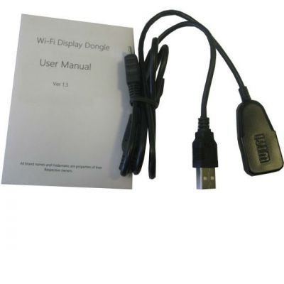 Espada Видеоадаптер WiFi HDMI для телевизора, монитора (стандарты DLNA, Miracast, AirPlay) WV02