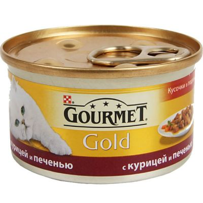 �������� Gourmet Gold ��� ����� ������� � �������� ������/������ 85� (����. 24 ��) (12130919)