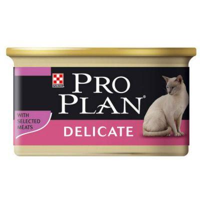 Консервы Proplan для кошек мусс Индейка 85г (упак. 24 шт) (12066943)