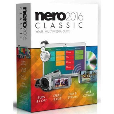 Программное обеспечение Nero 2016 Classic (4052272001533)