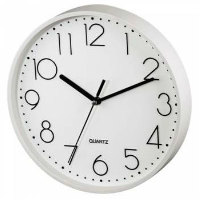 Настенные часы Hama аналоговые PG-220 белый