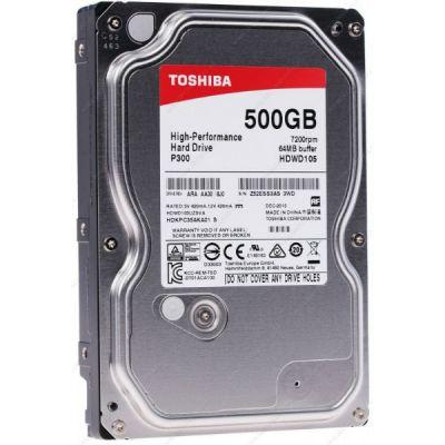 Жесткий диск Toshiba P300 SATA-III 500Gb HDWD105UZSVA