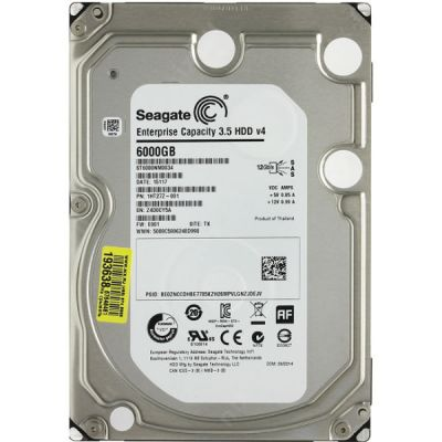 "������� ���� Seagate Enterprise Capacity es 3.5"" 6Tb ST6000NM0034"