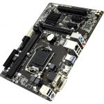 Материнская плата Gigabyte LGA1150 B85 PCI - E Dsub+DVI+HDMI GbLAN SATA MicroATX 2DDR - 3 (RTL) rev1.0 GA-B85M-HD3 R4