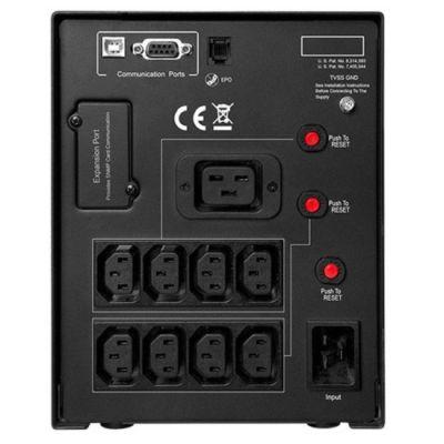 ИБП CyberPower 3000VA/2700W USB/RS-232/EPO/SNMPslot/RJ11/45 (9 IEC) PR3000ELCDSL