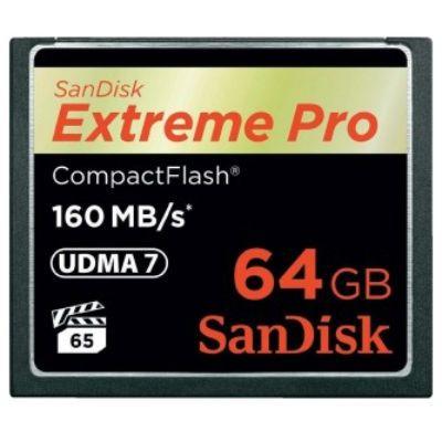 Карта памяти SanDisk 64GB Extreme Pro SDCFXPS-064G-X46