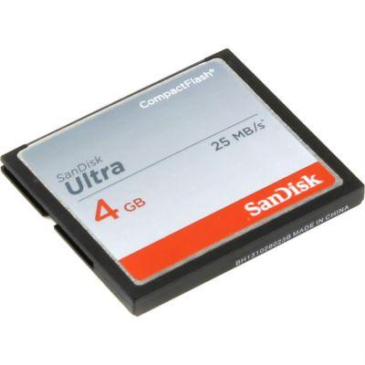 Карта памяти SanDisk 4GB Ultra SDCFHS-004G-G46