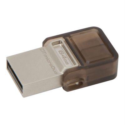Флешка Kingston USB 2.0 64GB DTDUO/64GB-YAN