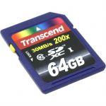 Карта памяти Transcend 64GB SDXC Class 10 TS64GUSDXC10