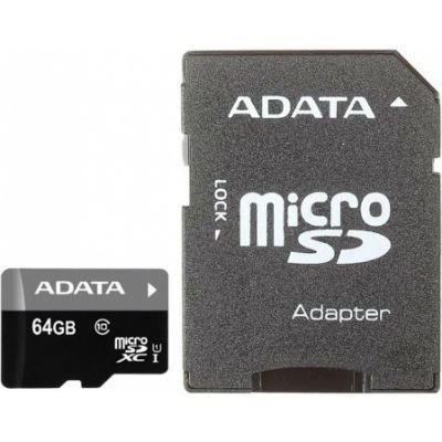 ����� ������ ADATA 64GB AUSDX64GUICL10-RA1