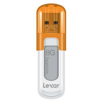 Флешка Lexar 8Gb JumpDrive V10 USB2.0 LJDV10-8GBABEU оранжевый/белый