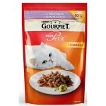 Паучи Gourmet Mon Petit для кошек кусочки в соусе ягненок 50г (упак. 30 шт) (12287077)