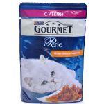 Паучи Gourmet Перл для кошек кусочки в подливе Утка 85г (упак. 24 шт) (12222486)