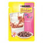 Паучи Friskies для котят с курицей в подливе 100г (упак. 20 шт) (12227682)