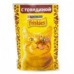 Паучи Friskies для кошек кусочки в подливе Говядина 85г (упак. 24 шт) (12261826)