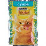 Паучи Friskies для кошек кусочки в подливе Утка 85г (упак. 24 шт) (12261815)