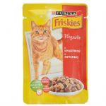 Паучи Friskies для кошек кусочки в подливе индейка/печень 100г (упак. 20 шт) (12227707)