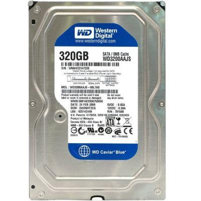Жесткий диск Western Digital HDD SATA-II 320Gb Caviar Blue 7200 rpm 8Mb WD3200AAJS