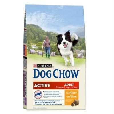 Сухой корм Dog Chow ACTIV для активных собак курица 14 кг (12233248)