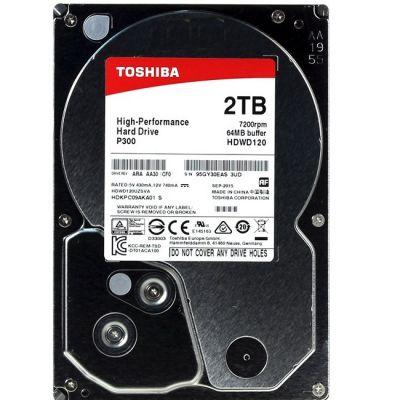 "������� ���� Toshiba SATA-III 2Tb P300 (7200rpm) 64Mb 3.5"" HDWD120UZSVA"