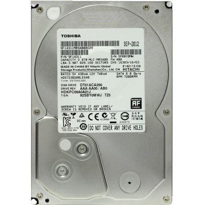 "Жесткий диск Toshiba SATA III 2Tb 3,5"" DT01ACA200"