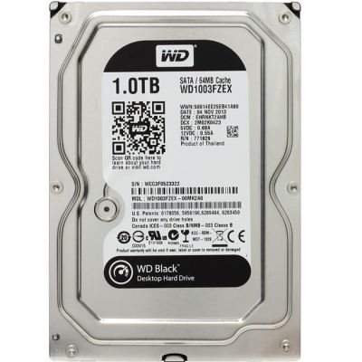 Жесткий диск Western Digital Caviar Black SATA 1TB 7200RPM 6GB/S/64MB WD1003FZEX
