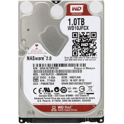 Жесткий диск Western Digital SATA 2,5 1000Gb WD Red WD10JFCX
