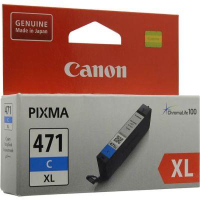 Картридж Canon CLI-471C Cyan/Голубой (0347C001)