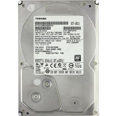 Жесткий диск Toshiba HDD SATA3 3Tb DT01ACA300