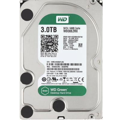 ������� ���� Western Digital SATA3 3000Gb Caviar Green WD30EZRX