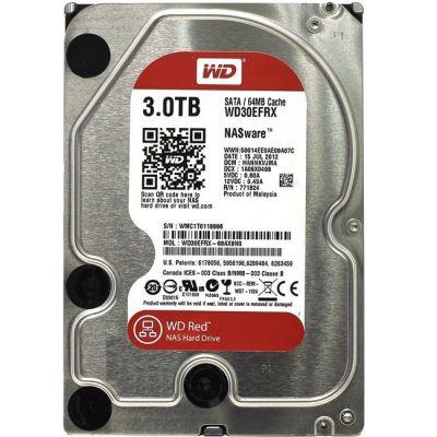 "Жесткий диск Western Digital Red 3000GB 3.5"" WD30EFRX"