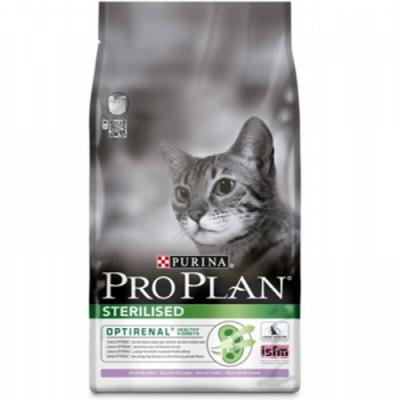 Сухой корм Proplan для кастрированных котов курица/индейка 1,5 кг (12171895)