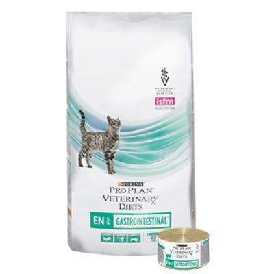 Сухой корм Purina Feline EN для кошек при патологии ЖКТ 400г. (12148079)